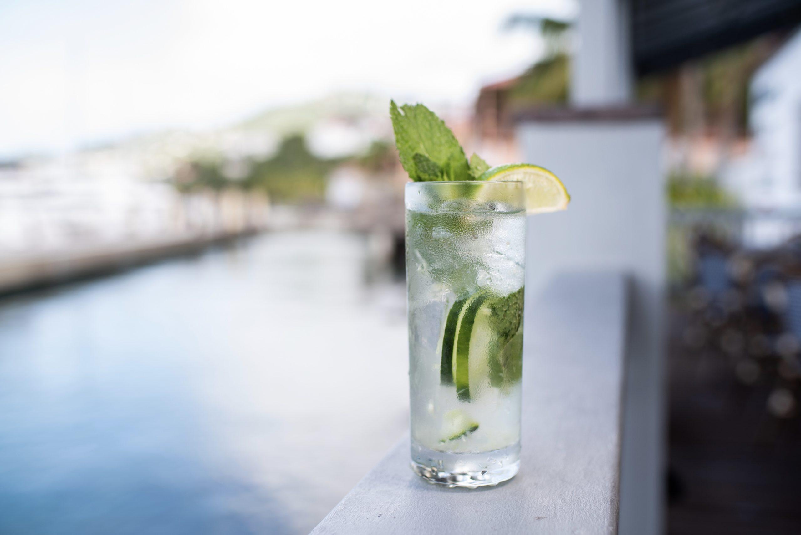 Navy Beach St. Thomas cocktail
