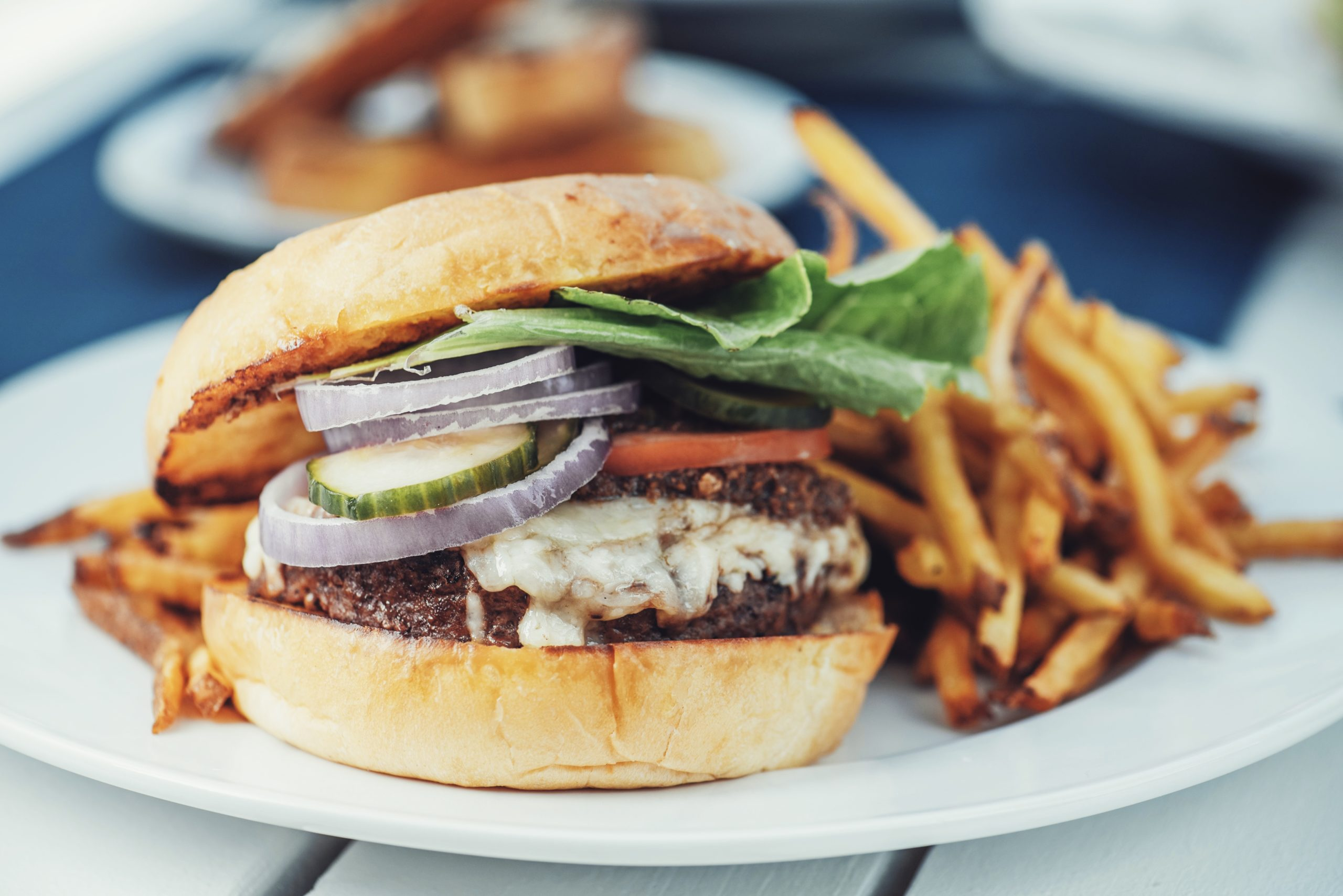 Navy Beach St. Thomas Navy Burger